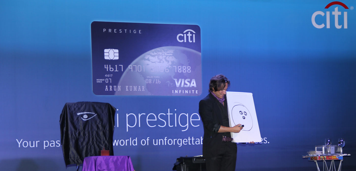 Citi Prestige Card Launch