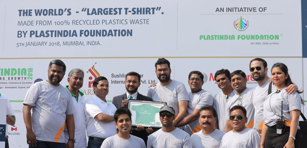Guinness World Record – Worlds Largest T-Shirt